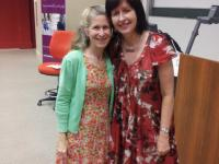Zoe Weil and Gayle D'Arcy