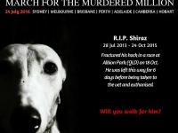 March for the Murdrered Million